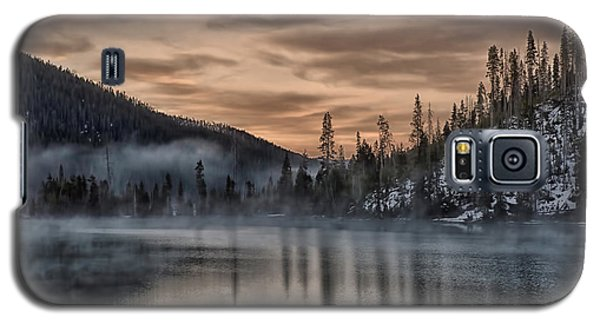 Early Morning Yellowstone Galaxy S5 Case by CR  Courson