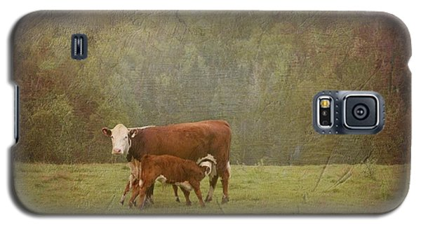 Early Morning Breakfast-cow Style Galaxy S5 Case