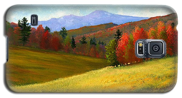 Galaxy S5 Case featuring the painting Early October by Frank Wilson