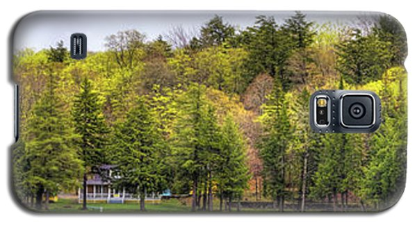 Early Spring Panorama Galaxy S5 Case by David Patterson