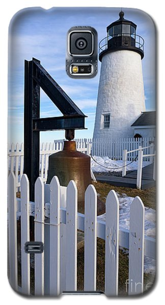 Galaxy S5 Case featuring the photograph Early Spring, Pemaquid Lighthouse, Maine  -71290 by John Bald