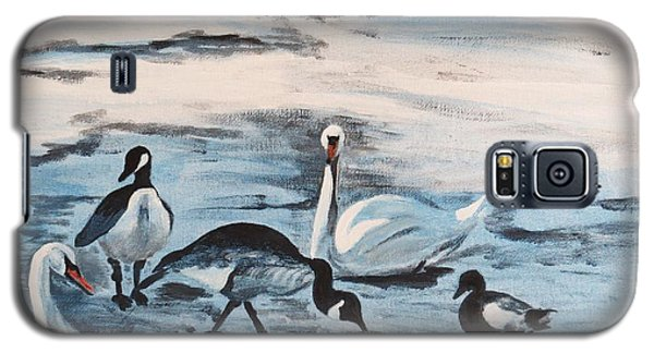 Early Spring Thaw With Ducks And Geese Galaxy S5 Case