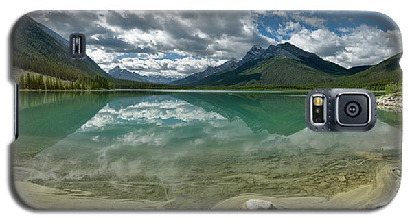 Galaxy S5 Case featuring the photograph Early Summer Day On Goat Pond by Sebastien Coursol