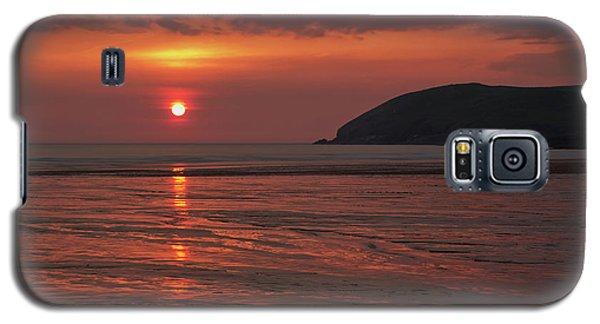 Early Summer On Croyde Beach In N Devon Galaxy S5 Case