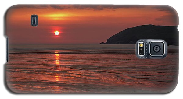 Early Summer On Croyde Beach In N Devon Galaxy S5 Case