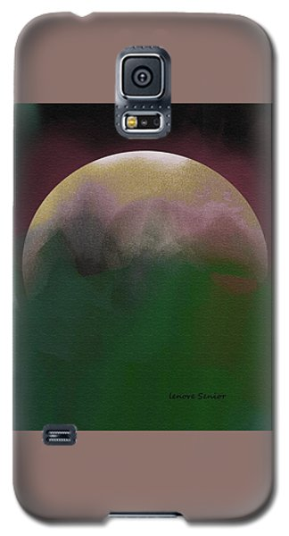 Earth And Moon Galaxy S5 Case
