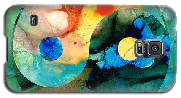 Earth Balance - Yin And Yang Art Galaxy S5 Case