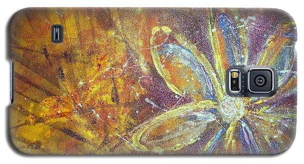 Earth Flower Galaxy S5 Case