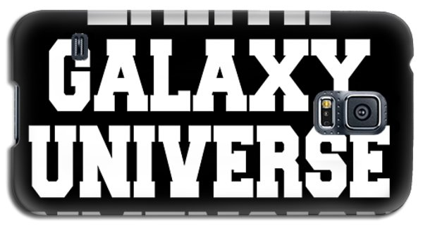 Earth Galaxy Universe Dimension Galaxy S5 Case