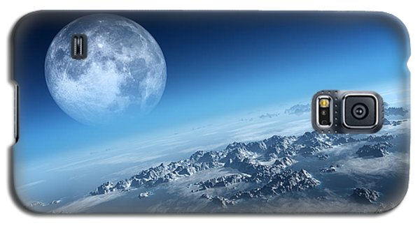 Earth Icy Ocean Aerial View Galaxy S5 Case by Johan Swanepoel