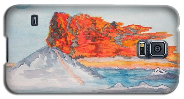 Earth In Action Galaxy S5 Case by Connie Valasco
