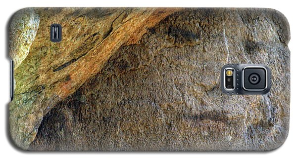 Galaxy S5 Case featuring the photograph Earth Memories-stone # 4 by Ed Hall