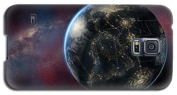 Earth One Day Galaxy S5 Case by David Collins