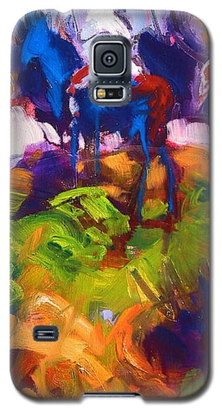 Earth People Galaxy S5 Case by Les Leffingwell
