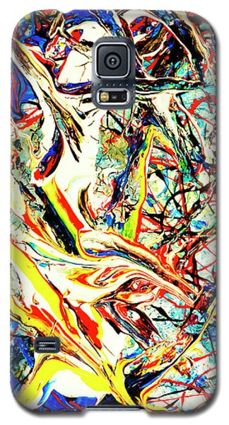 Galaxy S5 Case featuring the painting Earth Quaked by Elf Evans