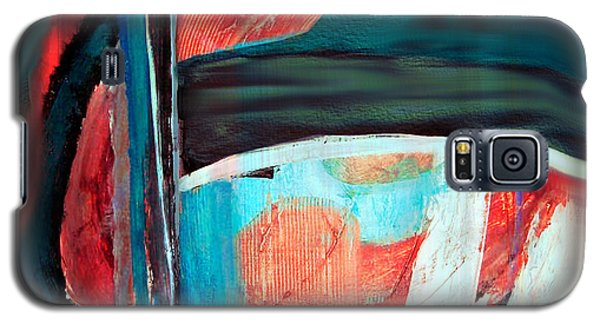 Galaxy S5 Case featuring the digital art Contrast And Concept by Yul Olaivar