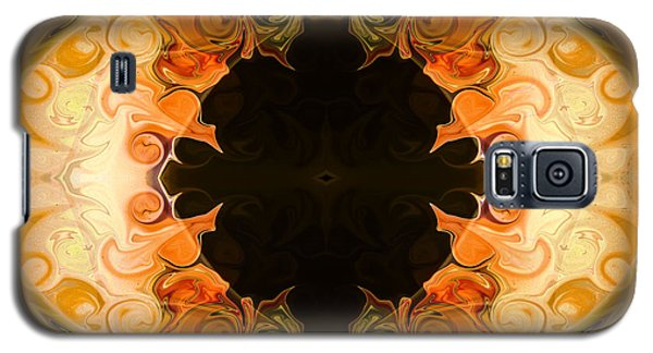 Earthly Undecided Bliss Abstract Organic Art By Omaste Witkowski Galaxy S5 Case