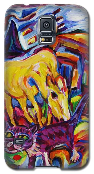 Earthquake Escapees Galaxy S5 Case by Dianne  Connolly