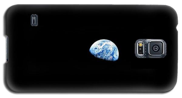 Earthrise - The Original Apollo 8 Color Photograph Galaxy S5 Case