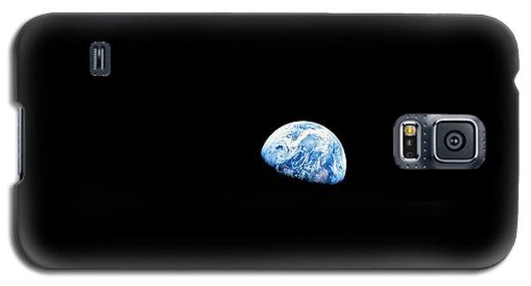 Earthrise Over Moon, Apollo 8 Galaxy S5 Case