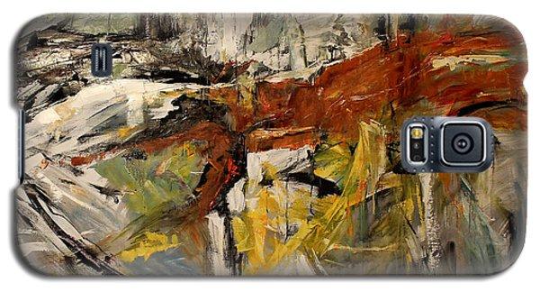 Earthy Abstraction Galaxy S5 Case by Debora Cardaci