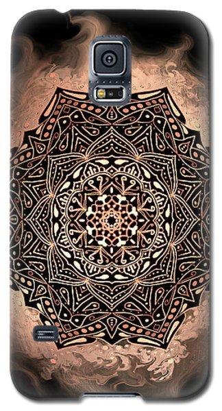Earthy Mandala Galaxy S5 Case