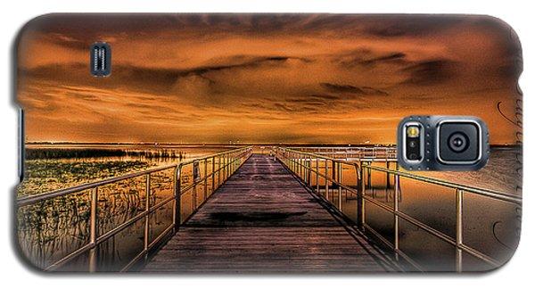 East Lake Pier Topaz Galaxy S5 Case