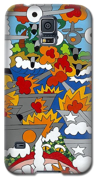 East Meets West Galaxy S5 Case