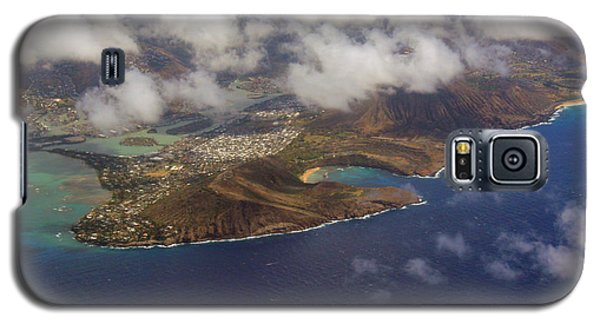 East Oahu From The Air Galaxy S5 Case