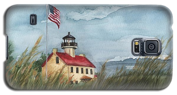 East Point Lighthouse Galaxy S5 Case by Nancy Patterson