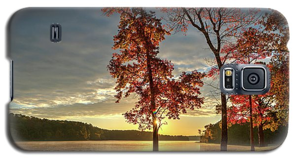 East Texas Autumn Sunrise At The Lake Galaxy S5 Case