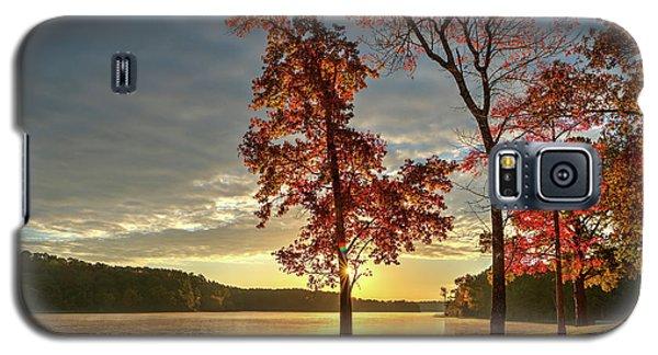 East Texas Autumn Sunrise At The Lake Galaxy S5 Case