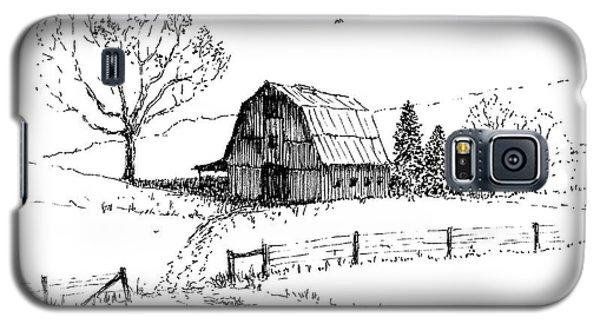East Texas Hay Barn Galaxy S5 Case