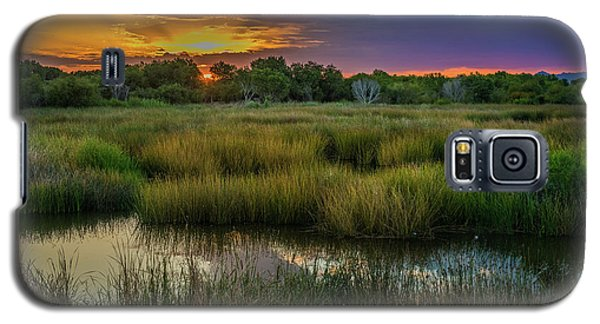 East Wetlands Sunrise Galaxy S5 Case