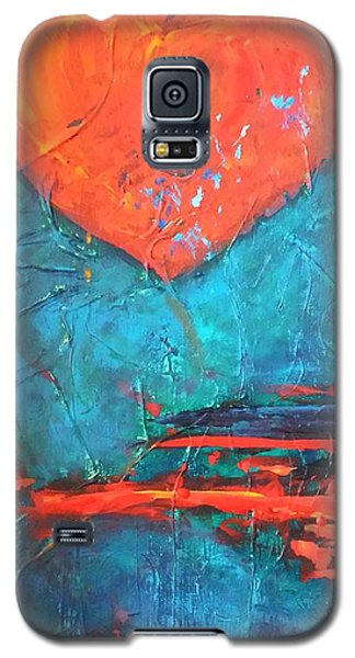 Galaxy S5 Case featuring the painting East Winds by Diana Bursztein