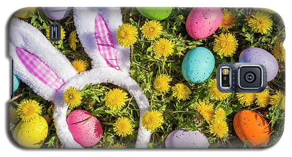 Galaxy S5 Case featuring the photograph Easter Bunny Ears by Teri Virbickis
