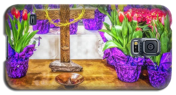 Galaxy S5 Case featuring the photograph Easter Flowers by Nick Zelinsky