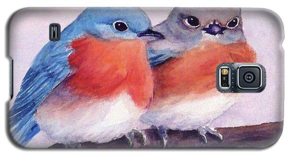 Eastern Bluebirds Galaxy S5 Case