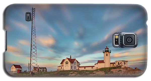 Eastern Point Lighthouse At Sunset Galaxy S5 Case