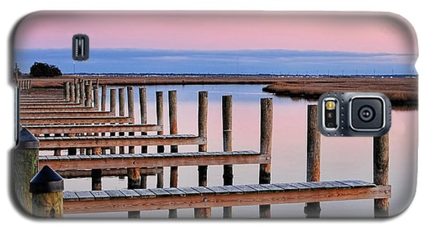 Eastern Shore On The Docks Galaxy S5 Case