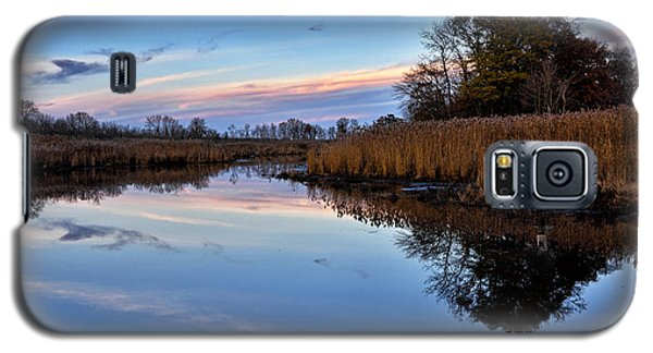 Galaxy S5 Case featuring the photograph Eastern Shore Sunset - Blackwater National Wildlife Refuge by Brendan Reals