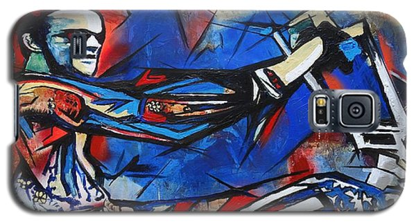 Easy Rider Captain America Galaxy S5 Case by Eric Dee