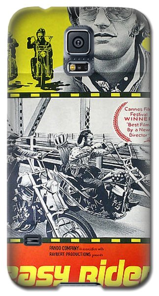 Easy Rider Movie Lobby Poster  1969 Galaxy S5 Case by Daniel Hagerman