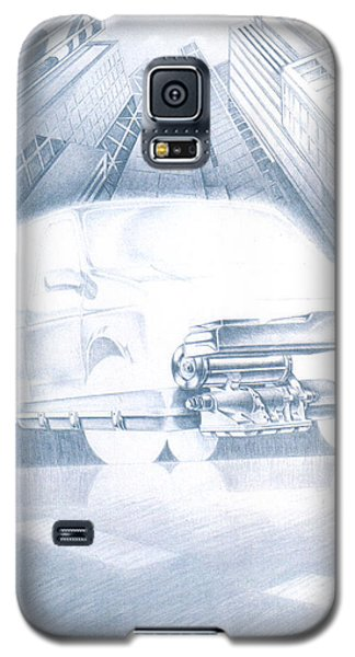 Eaton Electric Van Galaxy S5 Case
