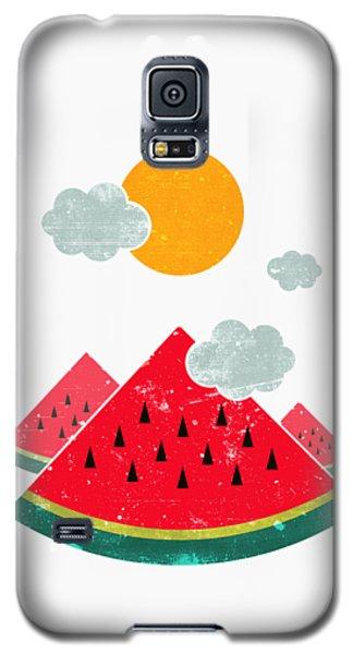 Watermelon Galaxy S5 Case - Eatventure Time by Mustafa Akgul