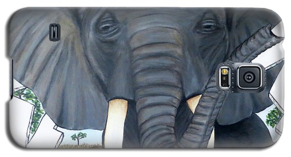 Eavesdropping Elephant Galaxy S5 Case