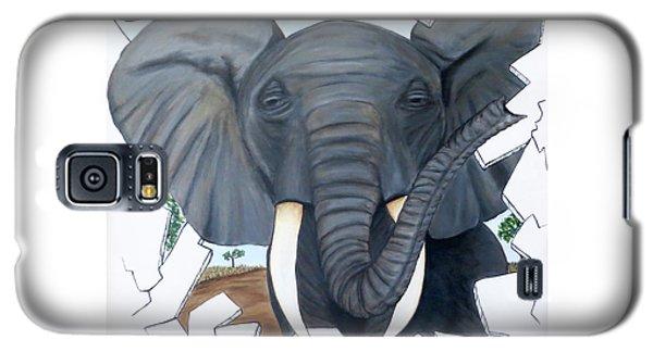 Eavesdropping Elephant Galaxy S5 Case