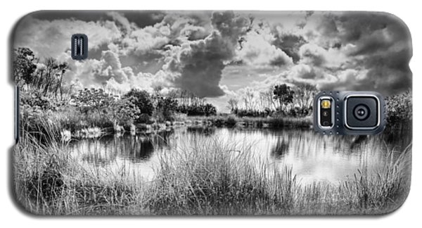 Everglades Lake 5678bw Galaxy S5 Case