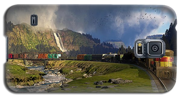 Echoes From The Caboose Galaxy S5 Case