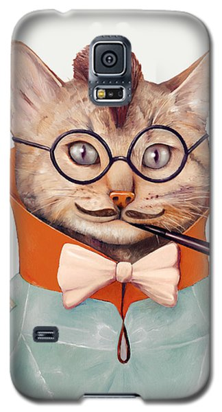Eclectic Cat Galaxy S5 Case by Animal Crew